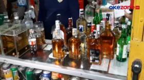 Razia Prokes, Petugas Sita Ratusan Botol Miras