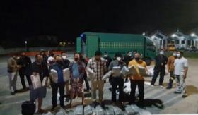 Penangkapan Terbesar, BNNP Bali Amankan 44 Kg Ganja dalam Truk Ekspedisi