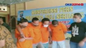 Pelaku Rampok dan Pemerkosaan Ditangkap Polisi