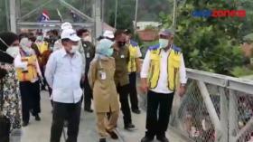 2 Jembatan Gantung di Lebak, Banten Selesai Dibangun
