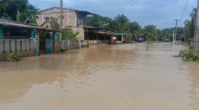 Rabu Pagi, Ratusan Rumah Masih Terendam Banjir di Asahan