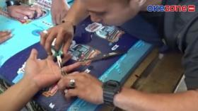 Evakuasi Cincin di Jari Warga Maros oleh  Damkar Berlangsung Dramatis
