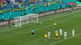 Penalti Emil Forsberg Tentukan Kemenangan Swedia atas Slovakia