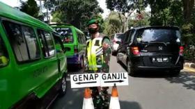 Hari Kedua Pemberlakuan Ganjil Genap di Kota Bogor, Ratusan Kendaraan Diputar Balik