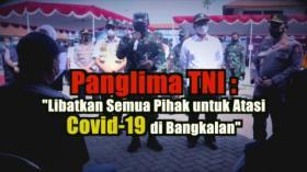 Tinjau Penanganan Covid-19 di Bangkalan, Panglima TNI Minta Semua Pihak Terlibat