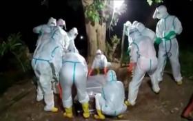Pandemi Covid-19, Relawan Pemakaman Jenazah Kerja Keras