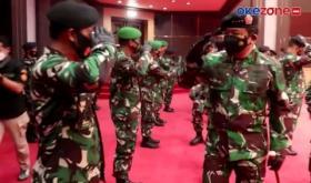 30 Pati TNI Naik Pangkat, Dudung Resmi Berpangkat Bintang Tiga