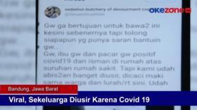 Viral, Sekeluarga Diusir Karena Covid-19