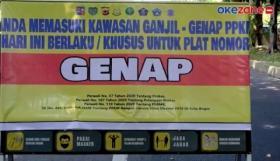 Hari Pertama Perpanjangan Ganjil Genap di Kota Bogor Terpantau Ramai