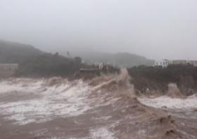 Setelah Banjir Bandang, Tiongkok Kini Diterjang Topan Infa