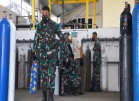 Pabrik Zat Asam Milik TNI AU Beralihfungsi Menjadi Pabrik Oksigen Medis