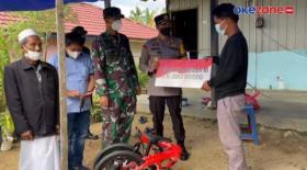 Presiden Jokowi Beri Sepeda untuk Vino yang Kehilangan Orangtua akibat Covid-19