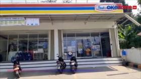 Minimarket Dibobol, Uang di ATM Raib