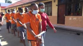 Mantan Polisi Pimpin Komplotan Pencurian Sapi Diciduk Aparat bersama 6 Anggota di NTT