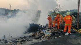 Kebakaran di Cilincing Hanguskan 6 Rumah dan 1 Kapal