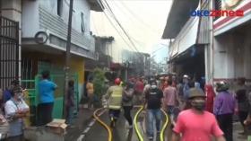 10 Rumah Ludes Terbakar di Bendungan Hilir Picu Kepanikan Warga