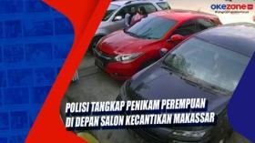 Polisi Tangkap Penikam Perempuan di Depan Salon Kecantikan Makassar