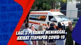 Lagi, 3 Perawat Meninggal Akibat Terpapar Covid-19