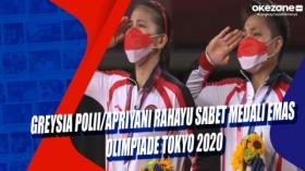 Greysia Polii Apriyani Rahayu Sabet Medali Emas Olimpiade Tokyo 2020