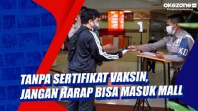Tanpa Sertifikat Vaksin, Jangan Harap Bisa Masuk Mal di Kota Bandung