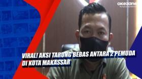 Viral! Aksi Tarung Bebas Antara 2 Pemuda di Kota Makassar
