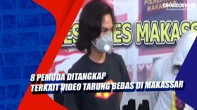 8 Pemuda Ditangkap Terkait Video Tarung Bebas di Makassar
