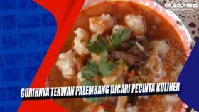 Gurihnya Tekwan Palembang Dicari Pecinta Kuliner