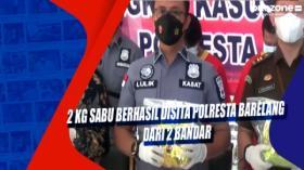 2 Kg Sabu Berhasil Disita Polresta Barelang dari 2 Bandar