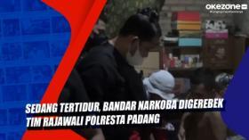 Sedang Tertidur, Bandar Narkoba Digerebek Tim Rajawali Polresta Padang