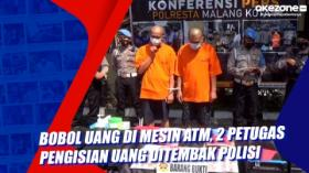 Bobol Uang di Mesin ATM, 2 Petugas Pengisian Uang Ditembak Polis