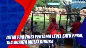 Jatim Provinsi Pertama Level Satu PPKM, 154 Wisata Mulai Dibuka