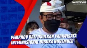 Pemprov Bali Usulkan Pariwisata Internasional Dibuka November
