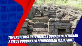 Tim Ekspedisi Universitas Surabaya Temukan 2 Situs Purbakala Peninggalan Majapahit di Gunung Penanggungan