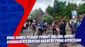 Viral Gowes Pejabat Pemkot Malang, Bupati Serahkan Kelanjutan Kasus ke Pihak Kepolisian