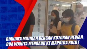 Dianiaya Majikan dengan Kotoran Hewan, Dua Wanita Mengadu ke Mapolda Sulut