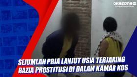 Sejumlah Pria Lanjut Usia Terjaring Razia Prostitusi di Dalam Kamar Kos