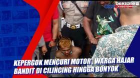 Kepergok Mencuri Motor, Warga Hajar Bandit di Cilincing Hingga Bonyok
