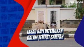Jasad Bayi Ditemukan dalam Tempat Sampah