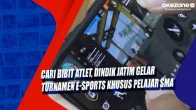 Cari Bibit Atlet, Dindik Jatim Gelar Turnamen E-Sports Khusus Pelajar SMA