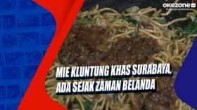 Mie Kluntung Khas Surabaya, Ada Sejak Zaman Belanda