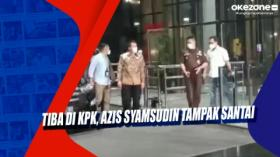Tiba di KPK, Azis Syamsudin Tampak Santai