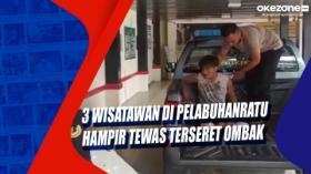 3 Wisatawan di Pelabuhanratu Hampir Tewas Terseret Ombak
