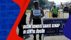 Begini Kondisi Ganjil Genap di Sentul Bogor