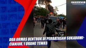 Dua Ormas Bentrok di Perbatasan Sukabumi-Cianjur, 1 Orang Tewas