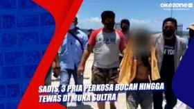 Sadis, 3 Pria Perkosa Bocah hingga Tewas di Muna Sultra