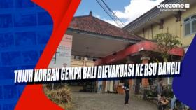 Tujuh Korban Gempa Bali Dievakuasi ke RSU Bangli