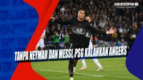 Tanpa Neymar dan Messi, PSG Kalahkan Angers