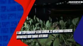6 Jam Terperangkap Eceng Gondok, 23 Wisatawan Berhasil Dievakuasi dari Danau Jatiluhur