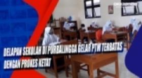 Delapan Sekolah di Purbalingga Gelar PTM Terbatas dengan Prokes Ketat