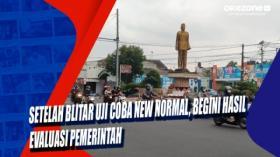 Setelah Blitar Uji Coba New Normal, Begini Hasil Evaluasi Pemerintah